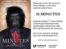 15 Minutes Book Launch
