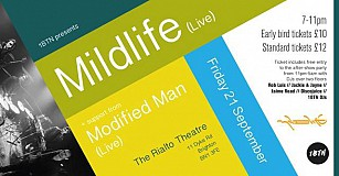 1BTN Presents: Mildlife (live) w/ support from Modified Man.