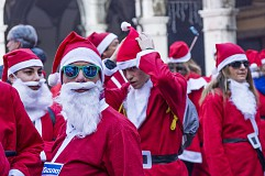 2km Santa Charity Run