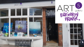 5 Influential UK Artists Expo @ Art5 Gallery Brighton Fringe