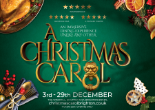 A Christmas Carol Brighton: the immersive dining experience