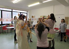 A Workshop Exploring Movement and Mark Making