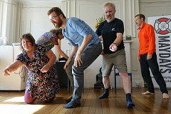 The Maydays Saturdays BEGINNERS Improv Comedy Course