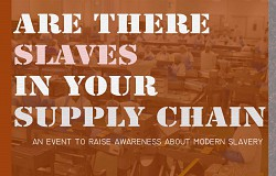 Are there Slaves in Your Supply Chain?