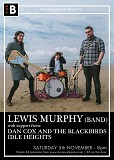 Lewis Murphy (Band) // Dan Cox and The Blackbirds // Idle Heights