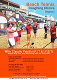 Beach Tennis Coaching Clinics