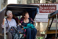 Visually Impaired Film: The Best Exotic Marigold Hotel