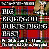 Big Brighton Burns Night Bash