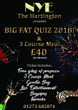 Big Fat New Year Quiz, disco and meal