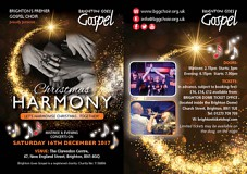 Christmas Harmony - Brighton Goes Gospel