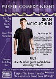 Purple Comedy Night with Sean McLoughlin