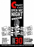 Comedy Cult - Open Mic Night 30th January