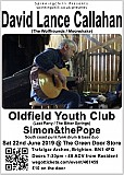 David Lance Callahan, Oldfield Youth Club, Simon&thePope