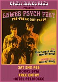 Eight Miles High warm up to Lewes Psych Fest