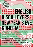 English Disco Lovers NEW YEARS EVE!