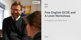 FREE English GCSE and A-Level revision workshop Brighton