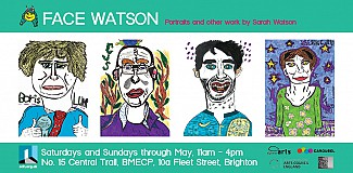 Face Watson: Portraits and other work by Sarah Watson