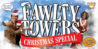 Fawlty Towers Chrismas Comedy Dinner Show in Brighton