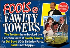 Fools @ Fawlty Towers Mercure Brighton Seafront Hotel 2nd May 2020
