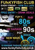 80s vs 90s Party - Free Entry