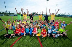 FREE fun football day for girls at Easter