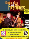 Graham Day & The Forefathers: plus support Strange Cages