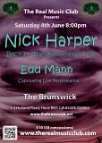 The Real Music Club presents Nick Harper and Edd Mann