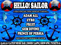 Hello! Sailor: A Drag King And Thing Showcase