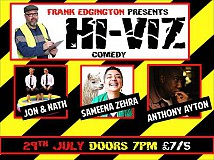 Hi-VIZ Comedy with Frank Edgington