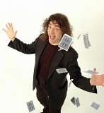 Jerry Sadowitz + Card Tricks