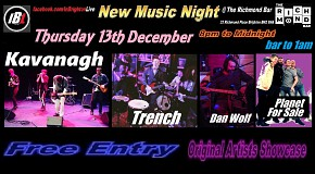 Kavanagh, Trench, Planet For Sale, Dan Wolf - InBrighton Live