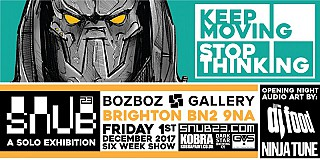 Keep Moving, Stop Thinking - SNUB23 Solo Show