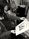 Kitchen Lithography - Drawing with Chocolate