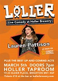 LOLLER - Live comedy at Holler Brewery