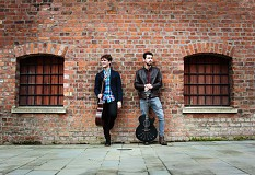 Lewis & Dav's Energetic, Soulful and Acrobatic Music Show