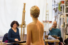 Life Drawing (Mixed Pose)
