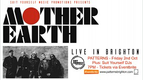 MOTHER EARTH - Live in BRIGHTON