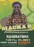 Macka B and Resonators