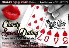 Charity Speed Dating (30s+40s)