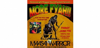 More Fyah!! Ft Maasai Warrior