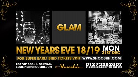 NEW YEARS EVE 2018/2019 at Shooshh