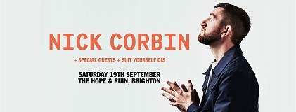 NICK CORBIN - Plus Guests & DJ