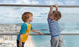 Offers: save on family fun in Brighton this summer at British Airways i360