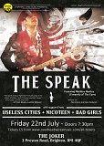 Overhead Wires Music presents THE SPEAK + support
