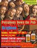 Polyphony Down the Pub Brighton