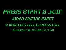 Press Start 2 Join - Video Game Event