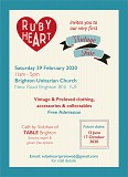 Ruby Heart Vintage Fair