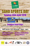 Sand Sports Day -  TakePART Festival