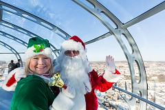 Santa Flights at British Airways i360