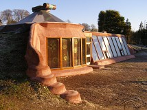 Self Building an Earthship